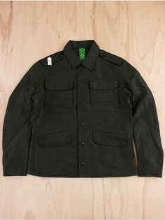 MA.STRUM OFFICERS OUTERSHIRT MILITARY GREEN  £265.00