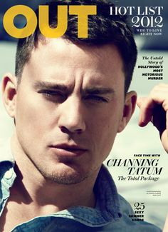 Channing Tatum Covers Out Magazine's June/July 2012 Hot Issue