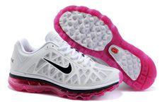 Nike Air Max 2011 Skor Vit Rosa Svart Kvinna 45651