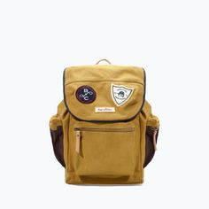 ZARA - KIDS - PATCHED BACKPACK