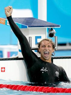 Ian Thorpe -          A decorated Olympian, the Thorpedo earned that nickname for his speed and stealth as a swimmer. Thorpe's five gold medals are the most won by an Australian swimmer.