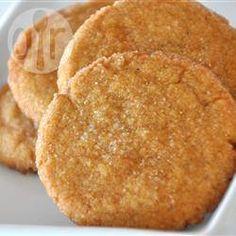 Фото рецепта: Ирландское имбирное печенье