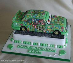 Chick Hicks Birthday Cake