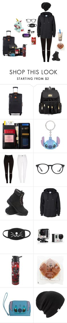 """Viagem#2"" by vivi-br ❤ liked on Polyvore featuring Bric's, Juicy Couture, IDEA International, Disney, Ray-Ban, Timberland, Zoe Karssen, GoPro, Marvel and Coal"