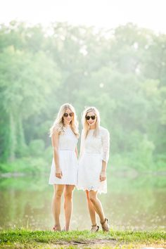 What to wear for a picnic: Fashion Column Twins