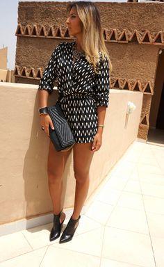Summer lookbook au maroc avec Sanaa sananas2106