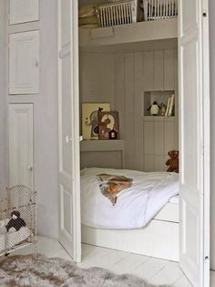 clever hideaway bed for child's room