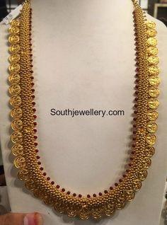 Kasumala latest jewelry designs - Page 5 of 23 - Indian Jewellery Designs Antique Jewellery Designs, Gold Earrings Designs, Gold Jewellery Design, Necklace Designs, Gold Designs, Gold Wedding Jewelry, Bridal Jewelry, Gold Jewelry, Gold Necklaces