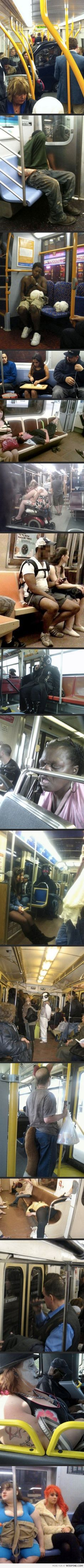Weird People On The Subway
