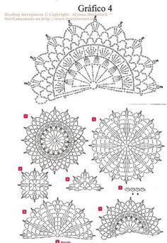 View album on Yandex. Débardeurs Au Crochet, Crochet Tunic Pattern, Crochet Motif Patterns, Crochet Mandala, Crochet Diagram, Crochet Chart, Crochet Squares, Thread Crochet, Irish Crochet