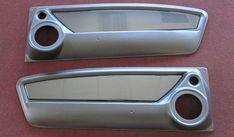 65 66 67 68 mustangs to fear door panels custom mustang fastback speaker brushed aluminum panel kit