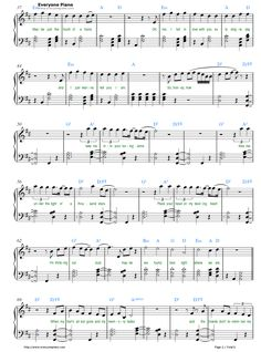Free Thinking Out Loud-Ed Sheeran Sheet Music Preview 2