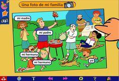 """""""Mi mundo en palabras"""", un gran recurso del Centro Virtual Cervantes para aprender español o  para trabajar el lenguaje y la comunicación."""