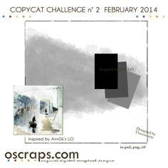 Challenge n° 2 - COPYCAT (Feb 14) - Forum :: Oscraps.com