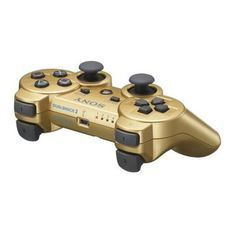 Unioncy - METALLIC GOLD NEW SONY PS3 DUAL SHOCK DUALSHOCK 3 WIRELESS BLUETOOTH CONTROLLER. Want it? Own it? Add it to your profile on unioncy.com #tech #gadgets #electronics