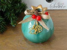 Pomegranate, Christmas Bulbs, Ceramics, Holiday Decor, Home Decor, Christmas Light Bulbs, Hall Pottery, Grenada, Pottery