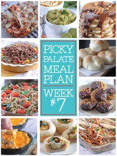 Picky Palate Meal Plan Week 7 - Picky Palate