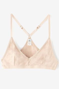 The problem with just tightening your standard bra's straps, according to the small-chested staffers we badgered, is the back of the bra tends to ride up really high, which can be extremely uncomfortable. Thankfully, the solution is an easy one. Base Range X Bra Bamboo, $55 (£43), available at Steven Alan. #refinery29 http://www.refinery29.uk/bras-small-boobs#slide-8