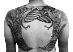 egyptian tattoo two spirits horus isis omg!