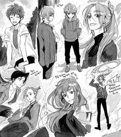 Ship Art, Webtoon, Manhwa, My Photos, Anime Art, Character Design, Fan Art, Arduino, Otaku