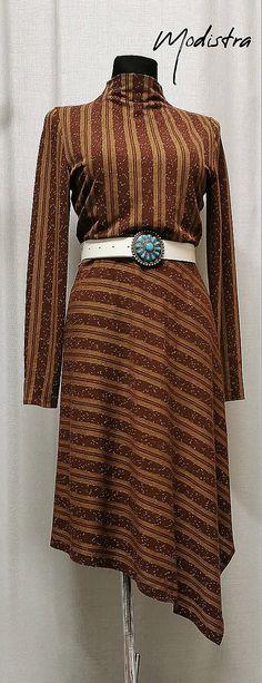 Úpletové šaty s prúžkom / Angeli - SAShE.sk - Handmade Šaty Bell Sleeves, Bell Sleeve Top, Angles, Dresses With Sleeves, Long Sleeve, Fashion Design, Tops, Women, Sleeve Dresses