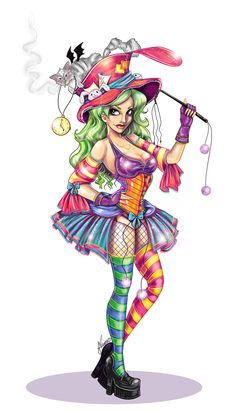 Redone Sexy Mad Hatter  by ~NoFlutter  Manga & Anime / Digital Media / Drawings	©2009-2012 ~NoFlutter