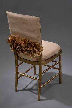 Sofia Gold Chair Cap