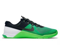 NIKE METCON 2 819899 300 GREEN BLACK TRAINING CASUAL SHOES $130 -MENS SZ 11.5-