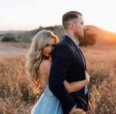 Thigh Split Sky Blue Rustic Wedding Dresses Beach Wedding Gown with Court Train Couple Photoshoot Poses, Couple Photography Poses, Wedding Photography, Couple Posing, Engagement Photography, Halloween Costume Couple, Couples Halloween, Couple Costumes, Engagement Photo Outfits