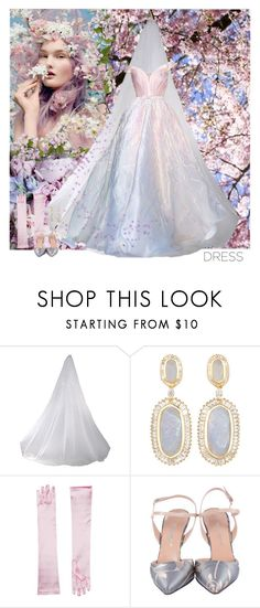 """""""Spring Trend: Off-Shoulder Dresses"""" by dezaval ❤ liked on Polyvore featuring Jo Malone, Kendra Scott, Georges Hobeika and Dolce&Gabbana"""