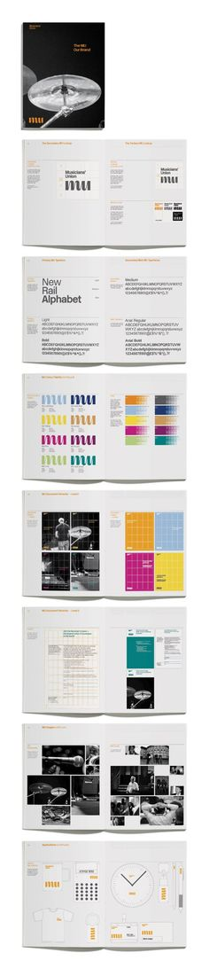 MU Brand guidelines by Matt Judge #guideline #guidelines