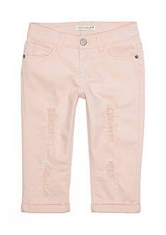 Imperial Star Distressed Crop Pants Girls 7-16