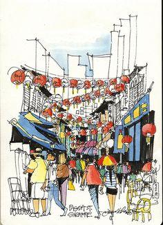 Pagoda Street, Singapore   Flickr - Photo Sharing!