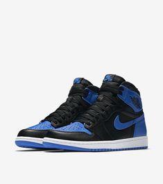 sports shoes 171df 0c2db AIR JORDAN 1 - Royal (2017) Jordan 1 Royal, Air Jordans, Nike