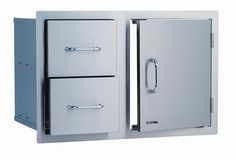 Bull Outdoor Products 25876 Stainless Steel Door Drawer Combo * This is an Amazon Affiliate link. To view further for this item, visit the image link.