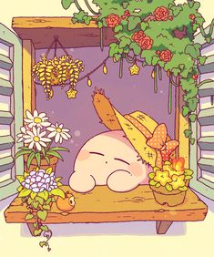 Kirby Character, Character Design, Cute Cartoon Wallpapers, Animes Wallpapers, Kawaii Drawings, Cute Drawings, Cute Doodles, Kawaii Wallpaper, Kawaii Art