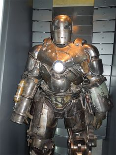 Hollywood Movie Costumes and Props Iron Man 3 Mark I suit, [alt_image]