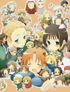 Hetalia!!! Love it! ;)