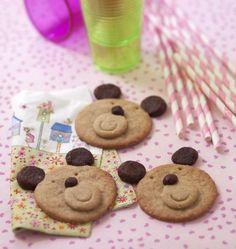 Biscuit sablés oursons - les meilleures recettes de cuisine d'Ôdélices