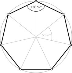 Heptagon: What it is, formulas and how to draw it - Top 500 Best Tattoo Ideas And Designs For Men and Women Cultural Architecture, Sacred Architecture, Classic Architecture, Architecture Tattoo, Barcode Tattoo, Regular Polygon, Geometric Drawing, Temple Design, Sacred Geometry