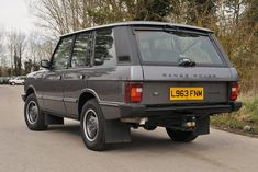 Range Rover Vogue, Jeep Sport, Range Rover Classic, Range Rovers, English Royalty, Motor Car, Brittany, Tractor, Offroad