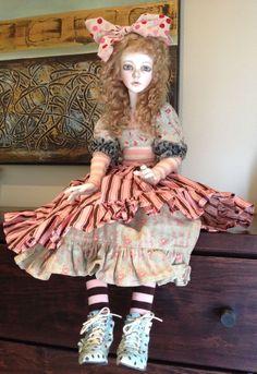 Mint Gorgeous Dollstown Azura SD13 OOAK by Connie Lowe Marbled Halls | eBay
