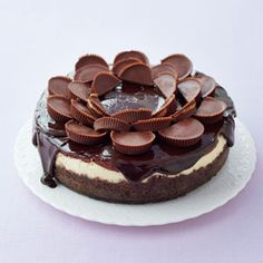 Peanut butter cup cheesecake. Can you see this disappearing quickly?  Good housekeeping May '13 issue.  Is your mouth watering?