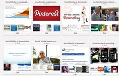 Pinterest vol infographics, social media campagnes, presentaties, video's en…