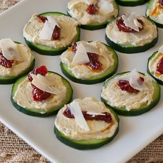 I wouldn't describe this as quite a Luxurious Appetizer but it is somewhat tasty and healthy.  :)