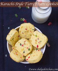 Karachi-Style Tutti Frutti Cookies/How to make Karachi-Style Tutti Frutti Cookies/