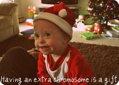Promote Down Syndrome Awareness.