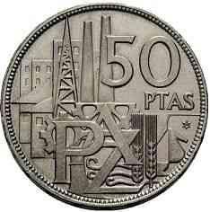 50 Pesetas 1957 64