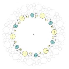 Схемы: Схема центрального элемента браслета