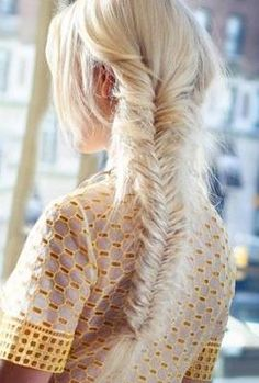 braid inspo.  OMG I do fishtails all the time but wow that is gonna take some time for how intricate the hair pieces are.  My arms would for sure fall off!